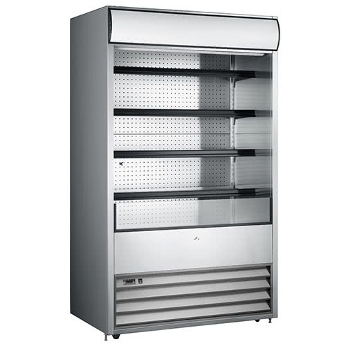 Marchia MDS48 48-inch Open Refrigerated Display Merchandiser, 81.5-inch Height S/S 220V