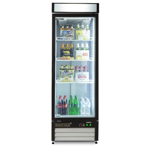Maxx Cold MXM1-23RHC Merchandiser Refrigerator, Free Standing