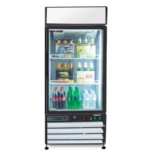 Maxx Cold MXM1-12RHC Merchandiser Refrigerator, Free Standing