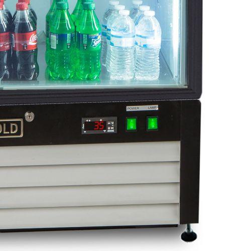Maxx Cold MXM1-16RHC Merchandiser Refrigerator, Free Standing