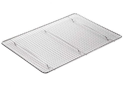 Winco PGWS-1216, 16x12-Inch Pan Grate for Half-Size Sheet Pan, Stainless Steel