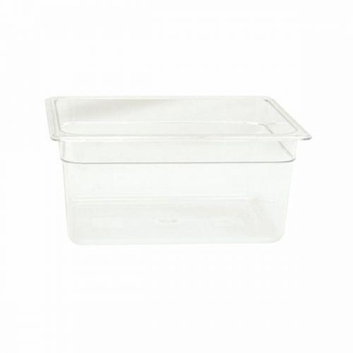 Thunder Group PLPA8126, Half Size 6-Inch Deep Polycarbonate Food Pan
