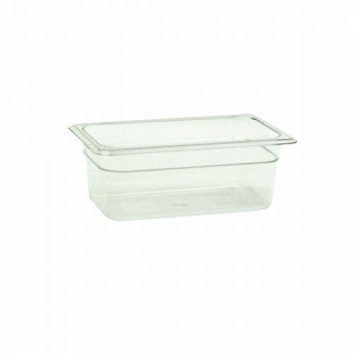 Thunder Group PLPA8144, Quarter Size 4-Inch Deep Polycarbonate Food Pan