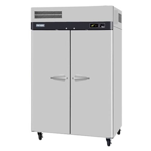 Turbo Air PRO-50F-N 2 Solid Doors Top Mount Reach-In Freezer