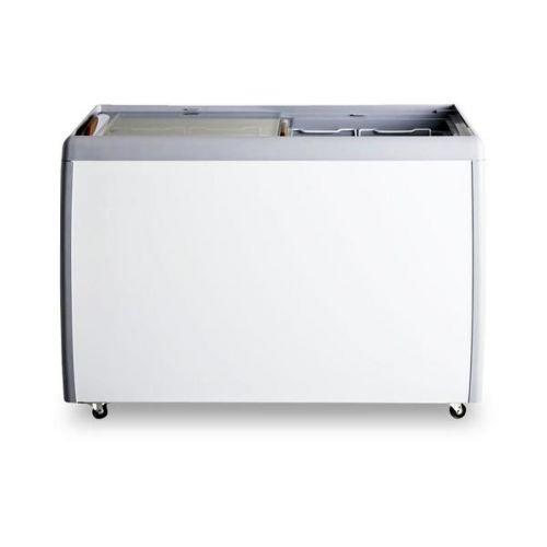 Coldline RI260 40-inch Flat Sliding Glass Top Lid Chest Freezer, 9.5 Cu. Ft.