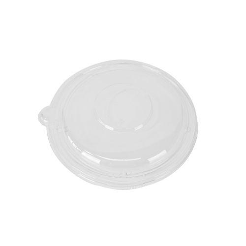 SafePro Eco SB32L PET Clear Round Lid for 24-32 Oz Bowls, 300/CS