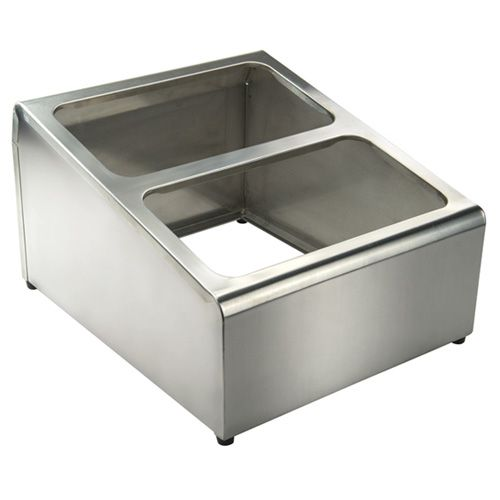 Winco SCPH-33 18/8 Stainless Steel Condiment Packet Holder, PC