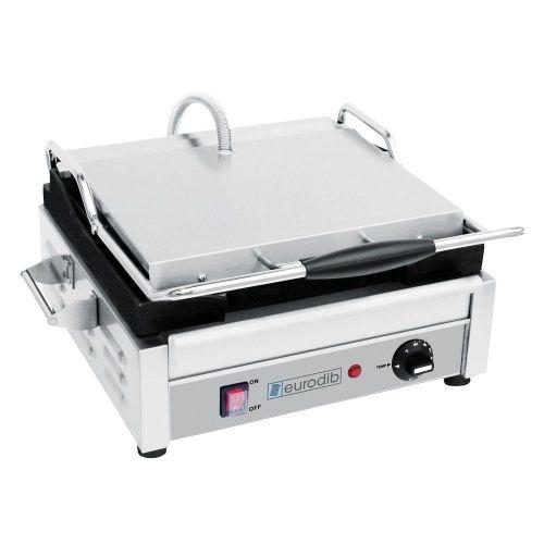 Eurodib SFE02345, 16-Inch Countertop Single Electric Panini Grill, UL, cUL, NSF