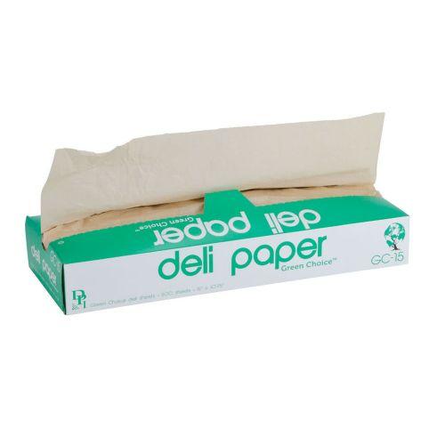 Durable Inc GC15BIO-X, 15x10.75-Inch Bio Kraft Dry Wax Deli Paper, 500-Piece Pack