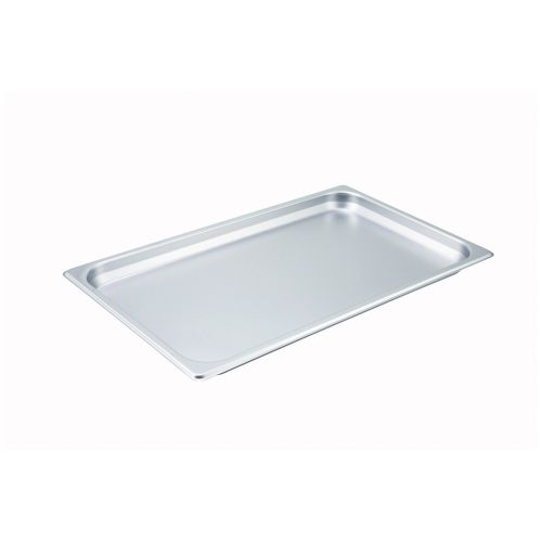 Winco SPF1, 1.5-Inch Deep, Full-Size Steam Table Pan, 25 Gauge, NSF