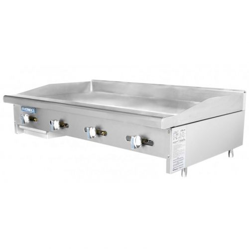 Turbo Air TAMG-48, 48-inch Radiance Manual Control Griddle, CSA