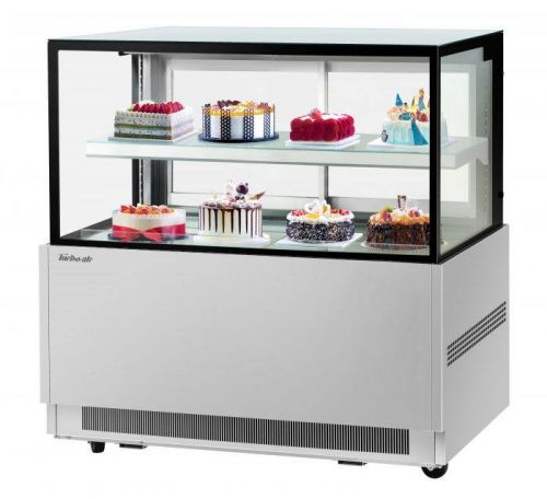 Turbo Air TBP60-46NN-S, 59-inch 2 Tiers Stainless Steel Refrigerated Bakery Case