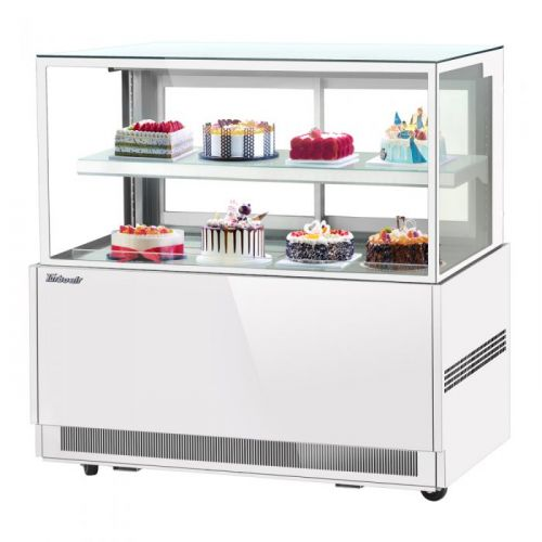 Turbo Air TBP60-46NN-W, 59-inch 2 Tiers White Refrigerated Bakery Case