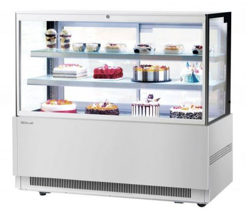 Turbo Air TBP60-46FN-S, 59-inch 2 Tiers Stainless Steel Refrigerated Bakery Case, Front Open