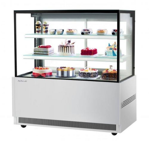 Turbo Air TBP60-54NN-S, 59-inch 3 Tiers Stainless Steel Refrigerated Bakery Case