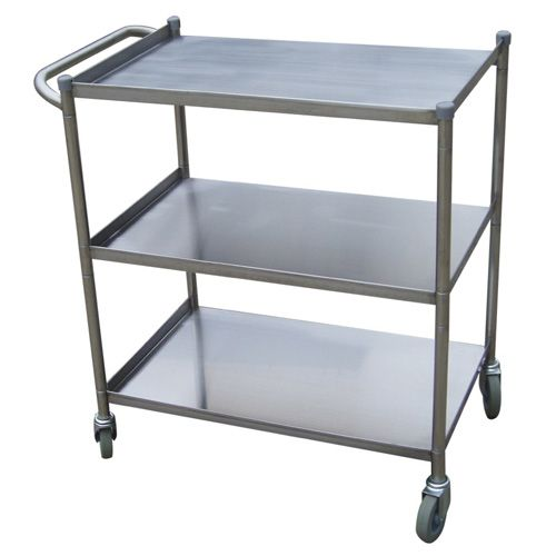 Turbo Air TBUS-2133, 21 x 33-inch Stainless Steel Utility Bus Cart