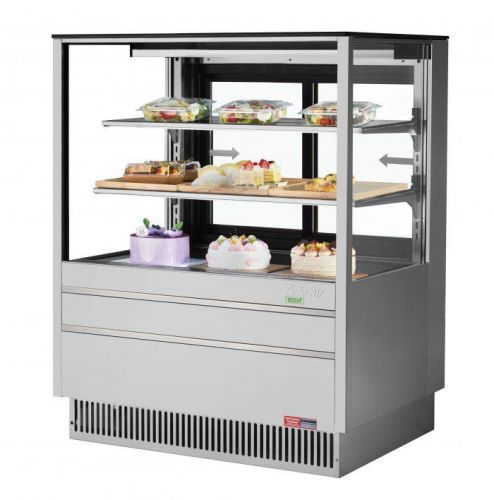 Turbo Air TCGB-36UF-S-N, 36-inch Glass Stainless Steel Refrigerated Bakery Case