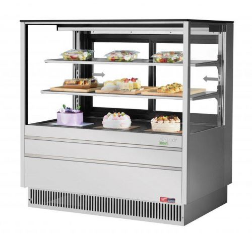 Turbo Air TCGB-48UF-S-N, 48-inch Glass Stainless Steel Refrigerated Bakery Case