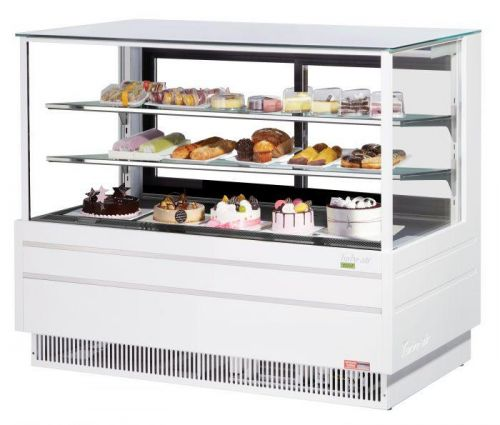 Turbo Air TCGB-60UF-W-N, 60-inch Glass White Refrigerated Bakery Case