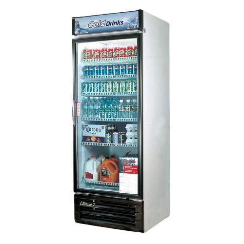 Turbo Air TGM-22RV-N6 Refrigerator 1 Door Swing Glass Merchandiser, White Cabinet w/ Black Framed Front