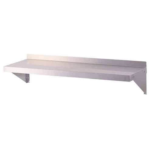 Turbo Air TSWS-1296, 96-inch Wall Mount Shelf, Stainless Steel