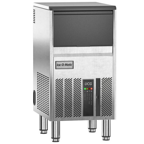 Ice-O-Matic UCG080A 18-inch Air-Cooled Undercounter Gourmet Cube Ice Machine, 95 lbs
