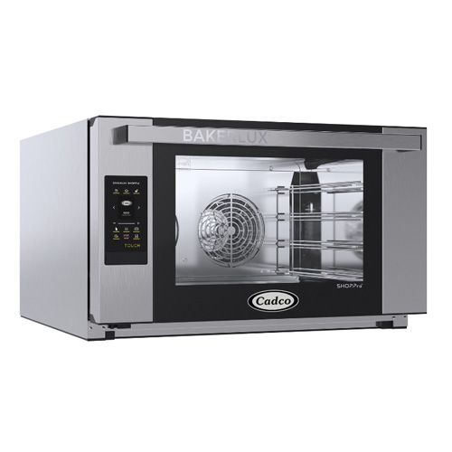 Cadco XAFT-04FS-TD Bakerlux Touch Screen Heavy Duty Full Size Convection Oven, 208/240 Volt, EA