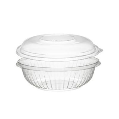 Fineline Settings Wavetrends Clear Dome Lid Pet For 12 oz Bowl  120 Pieces