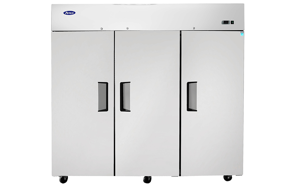 commercial reach in freezer