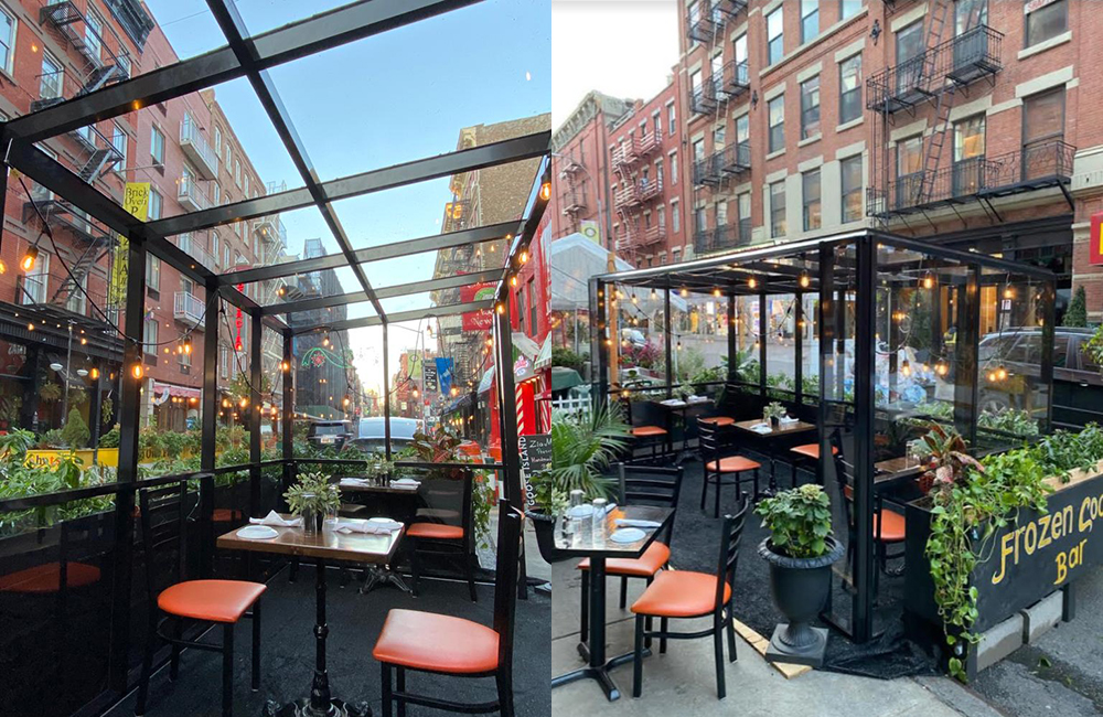 restaurant outdoor pods